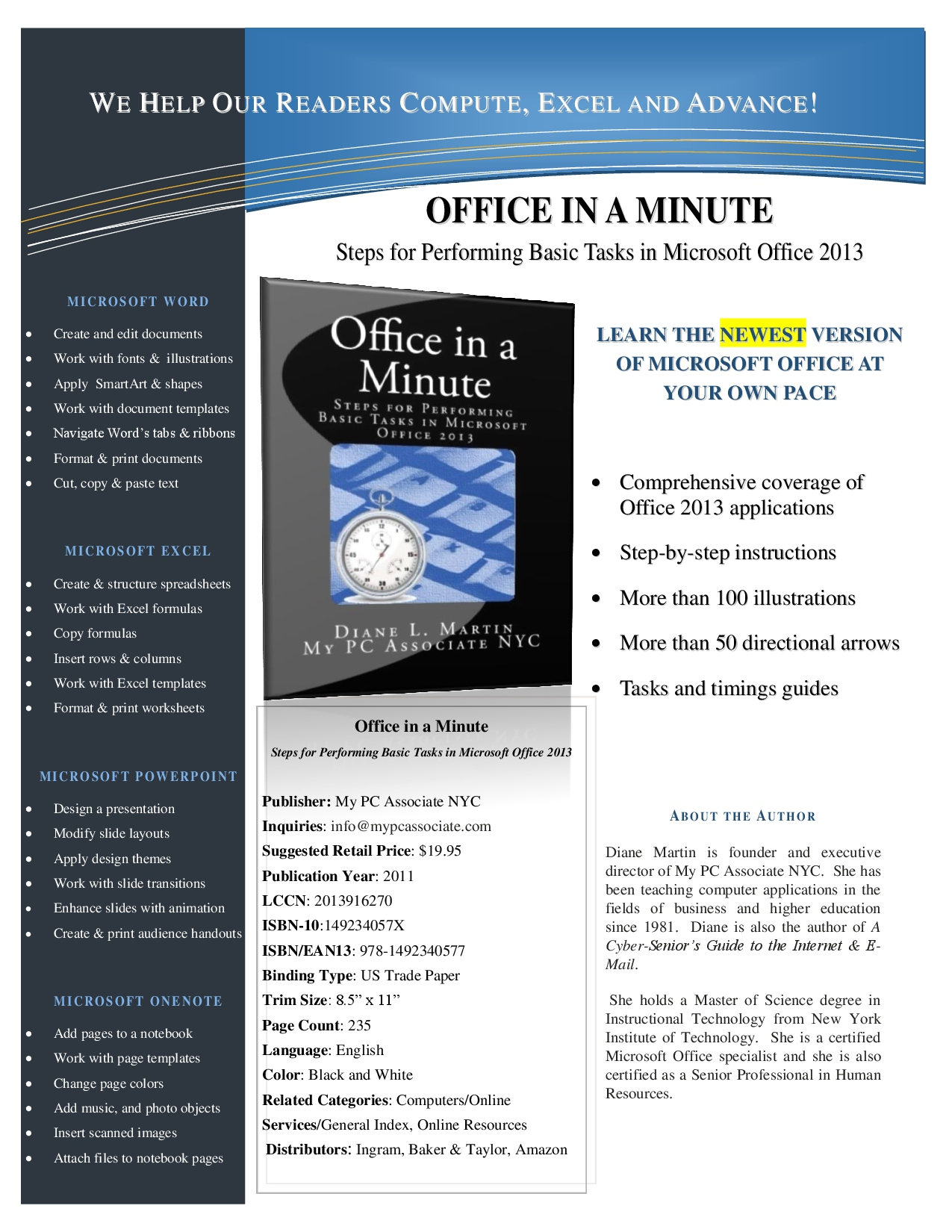 OFFICE IN A MINUTE SELL SHEET JUNE 2013 EDITION-1