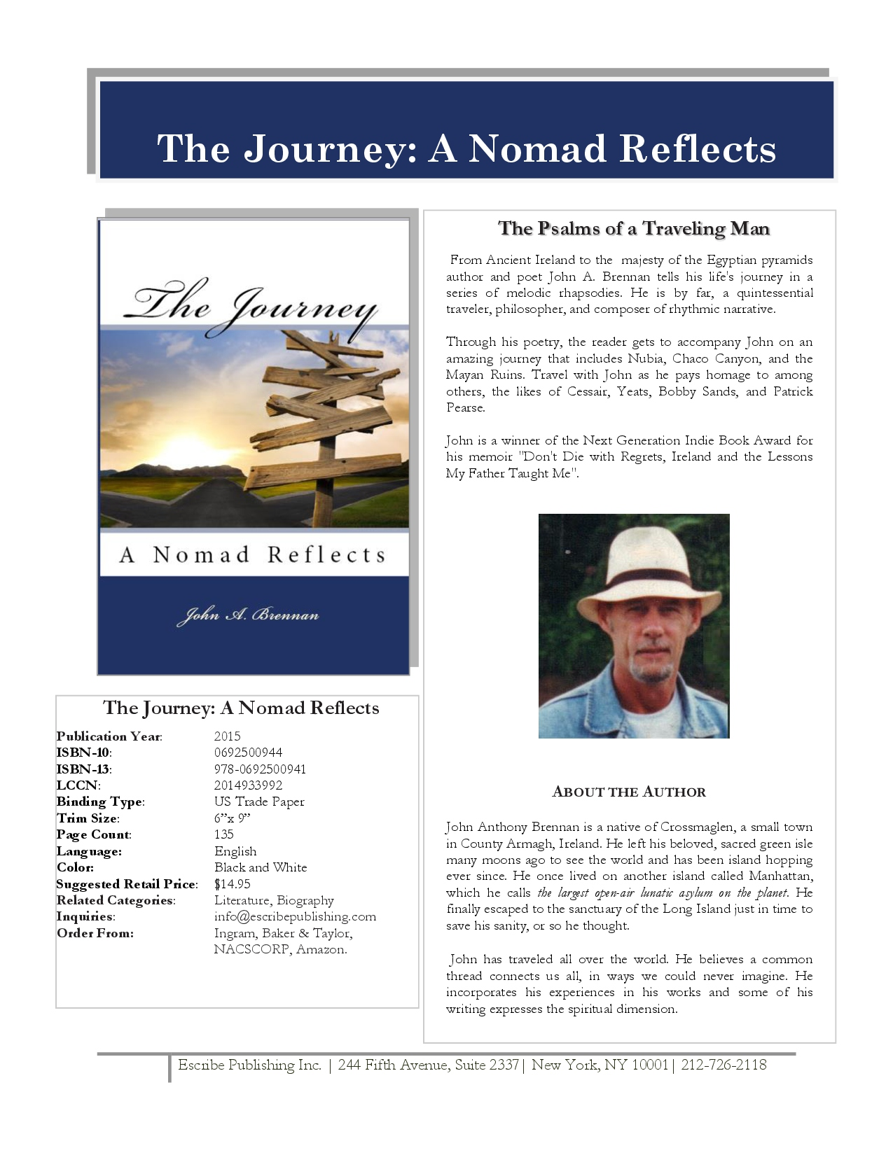 THE JOURNEY SELLSHEET