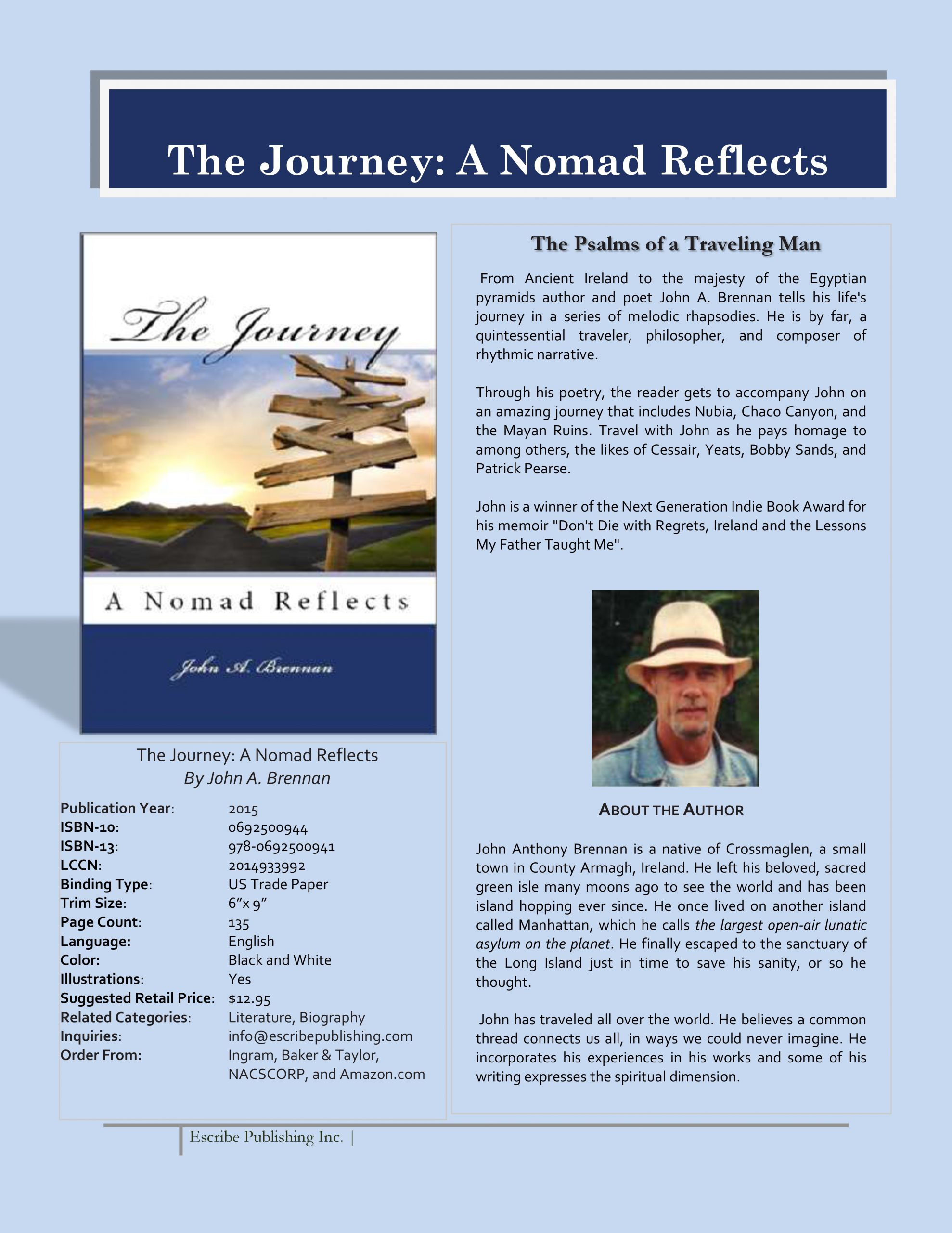 THE JOURNEY SELL SHEET